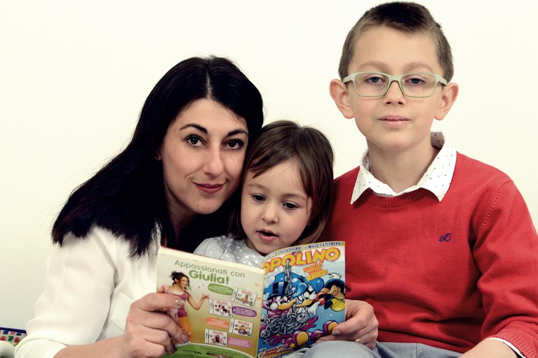 Giulia, Seba e mamma Mihaela!